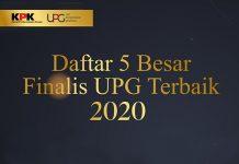 KPK menyelenggarakan Penghargaan UPG Terbaik 2020 untuk kementerian/lembaga/ pemerintah daerah dan BUMN/D.