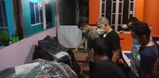 Jajaran Satreskrim Polresta Barelang mengungkap penyelundupan Motor Gede (Moge) di Perumahan Legenda Malaka Blok DD1 No.12, Batam Center
