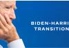 Tangkapan layar halaman depan website transisi Biden-Harris. Website ini baru dibuat pada Kamis (5/11/2020) sebagai persiapan untuk bisa langsung menjalankan pemerintahan sejak hari pertama resmi sebagai Presiden-Wapres AS.