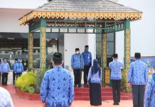 Upacara Peringatan Hari Ulang Tahun ke-49 Korps Pegawai Republik Indonesia