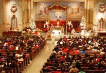Foto Ilustrasi Ibadah Perayaan Natal