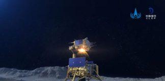 Chang'e 5, wahana luar angkasa China yang mengumpulkan sampel dari bulan untuk dibawa ke Bumi. (Foto dari Space.com)