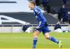 Striker Leicester City Jamie Vardy usai mencetak gol penalti ke gawang Tottenham Hotspur di Stadion Tottenham Hotspur, Minggu (20/12/2020). Itu adalah gol ke-11 Vardy musim 2020/21. 9Foto dari lcfc.com)