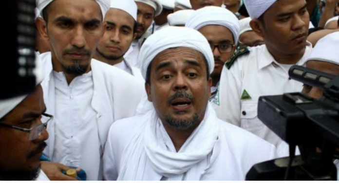 Imam Besar Front Pembela Islam (FPI) Muhammad Rizieq Shihab. (Foto: RRI.co.id)