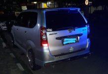 Mobil korban saat ditemukan polisi (Suryakepri.com/ist)