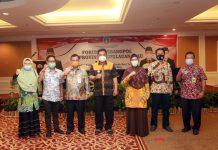 Badan Kesatuan Bangsa dan Politik Kota/Kabupaten se-Provinsi Kepulauan Riau memaparkan dan merumuskan rencana aksi pemantauan pilkada serentak 2020 di Hotel Harmony One Batamcenter.