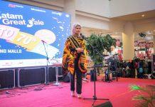 Acara pembukaan Batam Great Sale 2020, bertempat di Mega Mall.