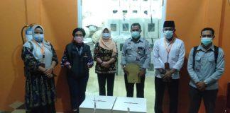 Rekapitulasi penghitungan suara di Kecamatan Teluk Bintan setelah selesai (Suryakepri.com)