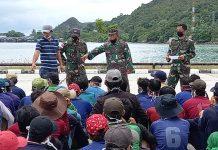 Pangkalan TNI Angkatan Laut (Lanal) Ranai kembali menerima tujuh Kapal Ikan Asing (KIA) berbendera Vietnam hasil tangkapan KRI Bung Tomo-357, Rabu (16/12/2020).