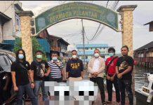 Kasat Reskrim Polresta Barelang, Kompol Andri Kurniawan turun langsung mengejar pelaku perampokan Rumah Villa Indah Puri milik Warga Negara Asing (WNA) di Sekupang ke Tanjungpinang, Kamis (17/12/2020).