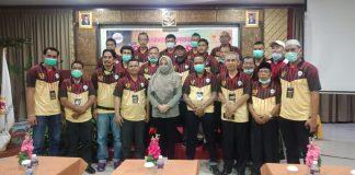 Ririn Warsiti jabat ketua Persatuan Bola Voli Seluruh Indonesia (PBVSI) Kepri periode 2020-2024, dalam Musyawarah Provinsi (Musprov), yang digelar di Hotel Golden View, Sabtu (19/12/2020)