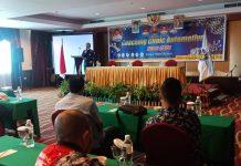 Ikatan Motor Indonesia (IMI) Kepri bersama Barelang Motor Sport (BMS) Batam menggelar Coaching Clinic Automotive, di Hotel King Batam, Sabtu (26/12/2020) siang.