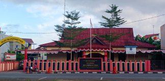 Mapolsek Tanjungpinang Timur (Suryakepri.com/Muhammad Bunga Ashab)