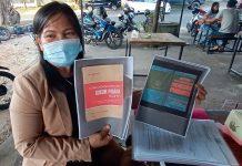 Kuasa Hukum Risalasih, Direktur PT. Bintan Inti Sukses (BIS) Priode 2015 - 2018, Cholderia Sitinjak, SH, MH (Suryakepri.com/Muhammad Bunga Ashab)