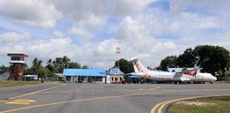 foto bandar udara karimun