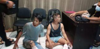 Foto Kedua perampok bernama Saprianto (33) dan Afin (24), berhasil mengondol uang sekitar Rp200juta.