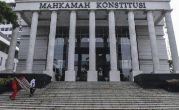 foto gedung Mahkamah Konstitusi.