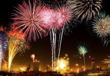 Foto ilustrasi Perayaan Tahun Baru