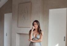 Model Sarah Kohan, istri mantan pemain MU Javier Hernandez. (Foto dari daily Star)