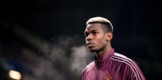 Gelandang Manchester United Paul Pogba (Foto Getty via Daily Star)