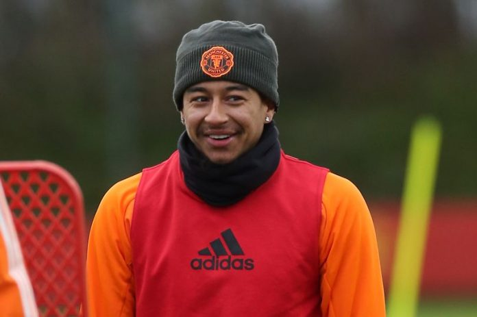 Gelandang Manchester United Jesse Lingard. (Foto: Getty via MEN Sports)