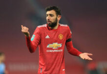 Gelandang andalan Manchester United Bruno Fernandes. (Foto dari Daily Star)