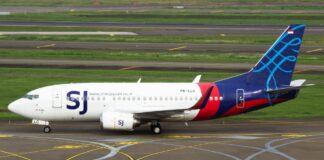 pesawat jet Boeing 737-500 Sriwijaya Air PK-CLC Penerbangan SJ-182 hilang kontak pukul 14.30 WIB setelah empat menit lepas landas dari Bandara Soekarno-Hatta, Cengkareng, tujuan Bandara Supadio Pontianak.