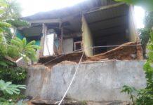 Tanah longsor kembali terjadi di daerah Tanjung Uma, Lubukbaja, Senin (11/1/2021).