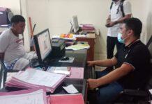 Reno Aprianto (32), pelaku penikaman di Ruli Tiban Danau, Patam Lestari Sekupang, Rabu (6/1/2021), mengaku mengeroyok Imanuel (57), dengan rekannya