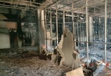 Gedung E Kantor 5 OPD Pemkab Karimun Terbakar,