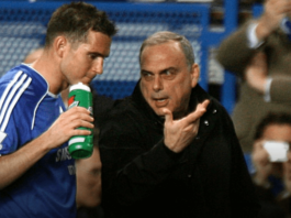 Frank Lampard (kiri_) saat masih bermain di bawah asuhan Avram Grant di Chelsea. (Foto dari Sky Sports)