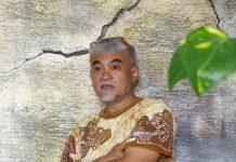 Guru Seni Rupa Listyo Sigit, Drs. Suhardi. (Foto: dok Humas Polri)