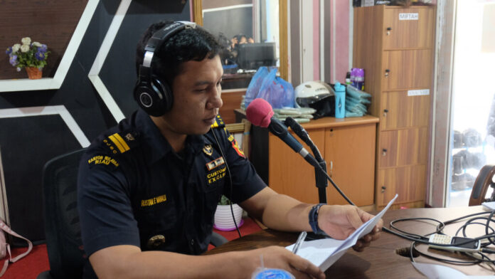 Humas Bea Cukai Tembilahan Riau Rustam Efendi Manalu. (Foto: Dok BC Tembilahan Riau).