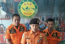 Kepala Basarnas Tanjungpinang Mu'min Maulana (Suryakepri.com/Muhammad Bunga Ashab)