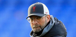 Manajer Liverpool Jurgen Klopp. Mantan manajer Liverpool (1991-1994) Graeme Souness mengatakan Liverpool akan gugup melawan Manchester United di Anfield pada Minggu (17/1/2021). (Foto dari sky Sports)