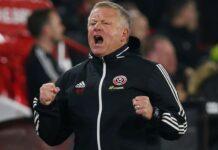 Manajer Sheffield United Chris Wilder. (Foto dari Telegraph)