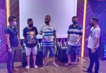 Polsek Bintan Timur berhasil mengamankan tiga pelaku kasus narkoba di tempat karaoke (Suryakepri.com/ist)