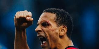 Legenda Manchester United Rio Ferdinand saat masih aktif bermain sebagai bek tengah andalan Setan Merah di era Sir Alex Ferguson. (Foto: Instagram Rioferdy5)