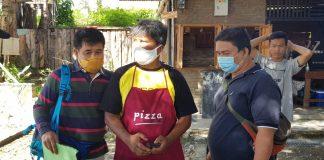 Sebastian Hutabarat saat ditangkap Tim Tabur Kejaksaan (Suryakepri.com)