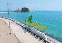 Destinasi wisata Pulau Putri yang menjadi icon Kota Batam