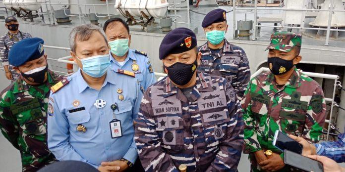 Komandan Gugus Keamanan Laut (Guskamla) Komando Armada I, Laksamana Pertama (Laksma) Yayan Sofyan