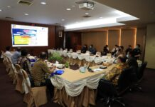Sosialisasi penyesuaian tarif Layanan Air Limbah kepada para tenant yang tergabung dalam Kawasan Pengelolaan Limbah Industri Bahan Berbahaya dan Beracun (KPLI-B3) Kabil, pada Kamis (7/1/2021) di Gedung Marketing Center BP Batam, Batam Centre.