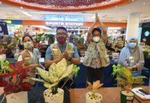 Aglonema Big Leaf dan Varigata Bur Le Max terpilih menjadi juara satu kontes tanaman hias yang digelar oleh Asosiasi Seni Lanskap Indonesia (Asli) Kota Batam