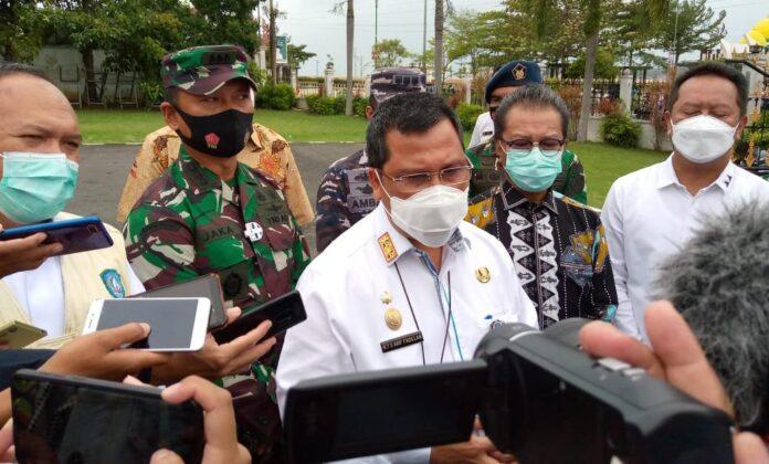 Sekda Kepri TS Arif Fadillah saat ditemui di Gedung Daerah Tanjugpinang (Suryakepri.com/Muhammad Bunga Ashab)