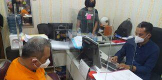 Jajaran Sat Reskrim Polresta Barelang mengamankan oknum dokter berinisial AT,