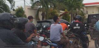 Motor Suzuki Thunder menjamur di setiap SPBU di Kota Batam saat bahan bakar premium datang