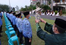 Pelantikan pejabat administrator dan pengawas di lingkungan Pemko Tanjungpinang (Suryakepri.com/Dok Humas Pemko Tanjungpinang)