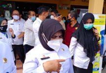 Wali Kota Tanjungpinang Rahma saat ditemui di kantor Lurah Tanjun Ayun Sakti (Suryakepri.com/Muhammad Bunga Ashab)