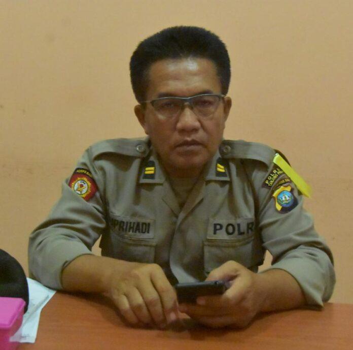Kasusbag Humas Polres Tanjungpinang Iptu Suprihadi (Suryakepri.com/Muhammad Bunga Ashab)