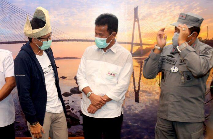 Sandiaga Uno kunker ke Kota Batam, Jumat (22/01/21)